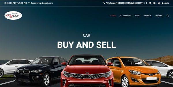 Car website design company india