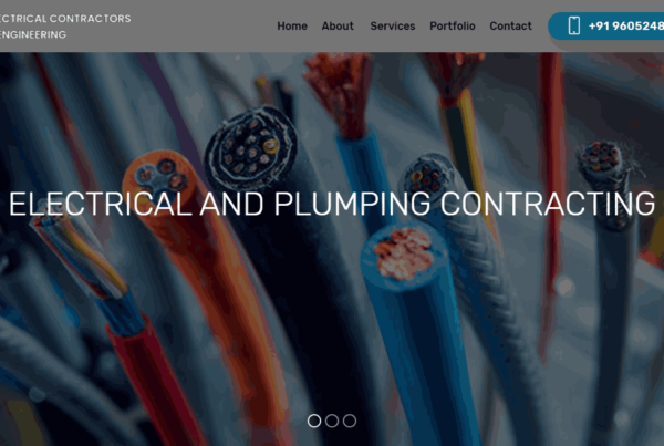 Electrical_shop-website