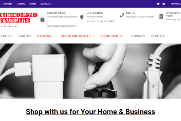 electronic_shop_website